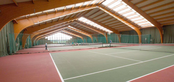 Hampshire Court Hotel Indoor Courts