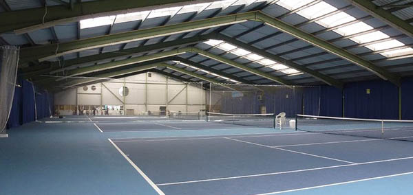 Nottingham tennis centre Indoor Courts